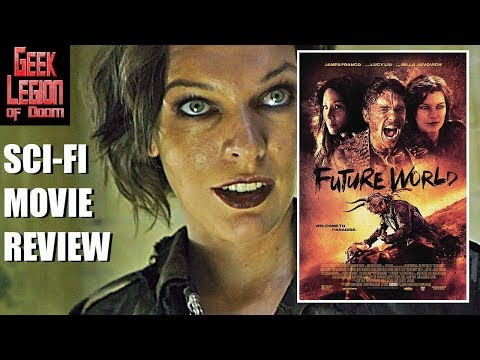 FUTURE WORLD ( 2018 James Franco ) Post Apocalypse Sci-Fi Movie Review