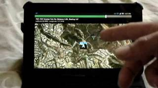 GPS Map YouTube video