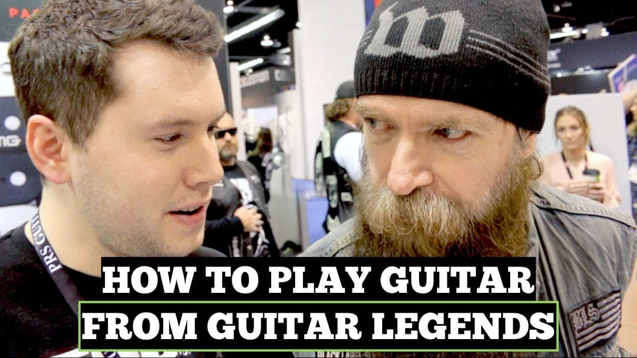 How to Play Guitar (According to Guitar Legends)