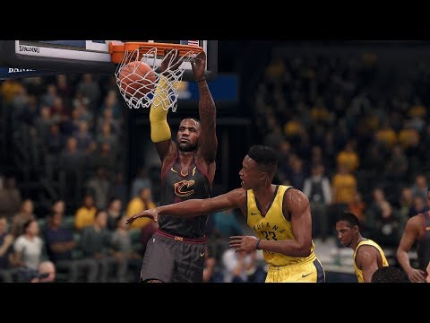 NBA 1/12 Cleveland Cavaliers vs Indiana Pacers | NBA Jan 12th Full Game Cavs vs Pacers (NBA LIVE 18)