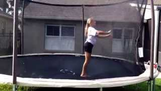 Today we decided to film a trampoline video for you guys I hope you enjoy it subscribe✅like
