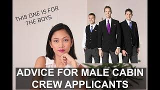 My Advice for  Male Cabin Crew Applicants| Job interview Flight Steward Position (Philippines)