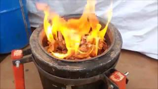 How to Light a gasifier stove