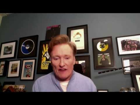 steel - Hey guys it's me Conan O'Brien this is my video response to the