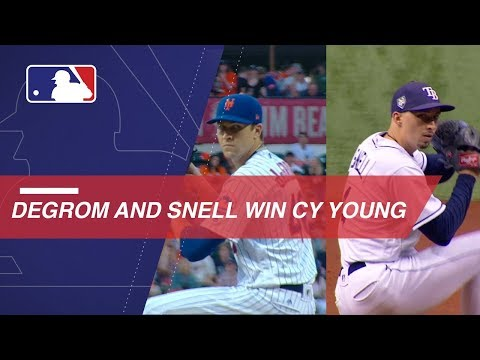 Video: Jacob deGrom and Blake Snell win 2018 Cy Young Awards