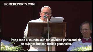 Textos del Papa Francisco en Semana Santa