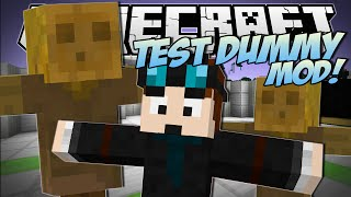 Minecraft | TEST DUMMY MOD! (The Indestructible Object!) | Mod Showcase