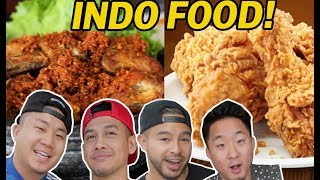 Video IS INDONESIAN FRIED CHICKEN THE BEST IN THE WORLD? w/ RICHIE & TAN // Fung Bros MP3, 3GP, MP4, WEBM, AVI, FLV Maret 2019