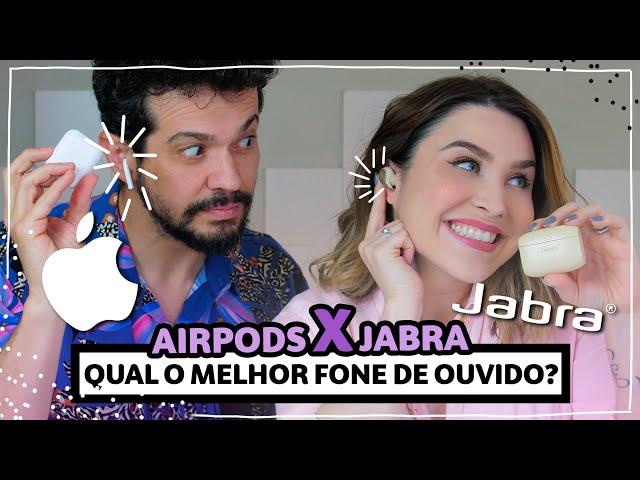 QUAL O MELHOR FONE BLUETOOTH? Airpod X Jabra | Lu Ferreira | Chata de Galocha - Chata de Galocha
