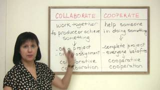 Collaborate or Cooperate?, Business English Vocabulary
