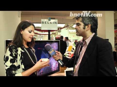 bnetTV interviews Belkin at PEPCOM NYC 2011