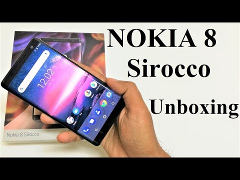 Nokia 8 Sirocco - Unboxing and First Impressions