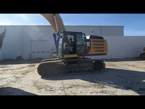 CATERPILLAR EXCAVADORAS DE CADENAS 336EL equipment video IJDFuVslMOs