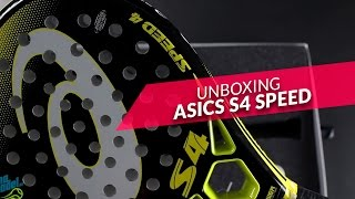 video Unboxing Pala de pádel Asics S4 Speed 2016