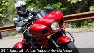 8. MotoUSA Review:  2011 Kawasaki Vulcan Vaquero