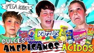 Probamos un montón de DULCES o CARAMELOS AMERICANOS suuuuper ácidos... ¡Un RETO ÁCIDO! ¿Quién aguantará más?***SUSCRÍBETE GRATIS aquí  http://goo.gl/IkkfYy  *** *** Suscríbete también al RESTO DE NUESTROS CANALES, ¡Te encantarán!:* HOY NO HAY COLE: http://www.youtube.com/ocioeducativo* AVENTURAS MÁGICAS: http://www.youtube.com/juegaconelpato* TOP TIPS & TRICKS IN 1 MINUTE: http://www.youtube.com/toptips*** SI QUIERES ENVIARNOS UNA CARTA, UN DIBUJO, etc: Mónica VicenteCottage Street MillCottage StreetMacclesfieldSK11 8DZUnited Kingdom (Inglaterra)*** SÍGUENOS EN:WEB: http://www.hoynohaycole.comFACEBOOK: http://www.facebook.com/hoynohaycoleTWITTER: http://www.twitter.com/hoynohaycoleINSTAGRAM: http://www.instagram.com/hoynohaycole @hoynohaycole, @mateo_the_boss_374, @bossatronio_hugo, @ladypecas