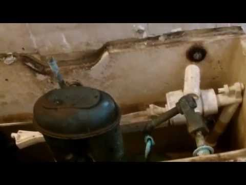 Noisy Toilet Cistern when flushing - Fix  - Repaired
