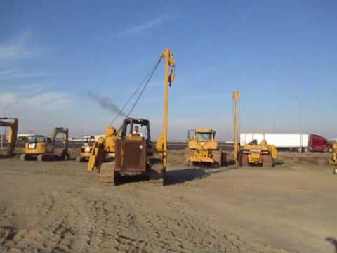 CATERPILLAR ROHRVERLEGER PL61 equipment video IJG0R7BIkTo