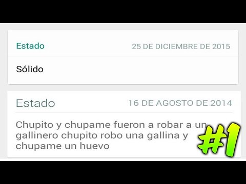 Status bonitos para Whatsapp - 10 Estados de Whatsapp Graciosos