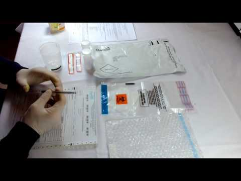 Urine Chain of Custody Laboratory test Part 1