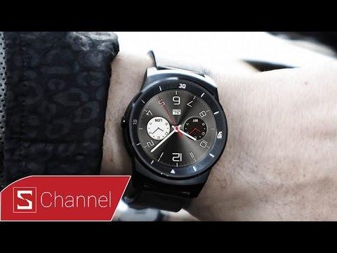 Mở hộp và trên tay nhanh LG G Watch R