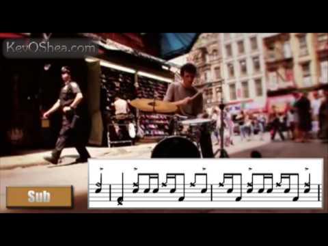 ★ Advanced Drum Lesson ★ Jojo Mayer Street Beatz 02