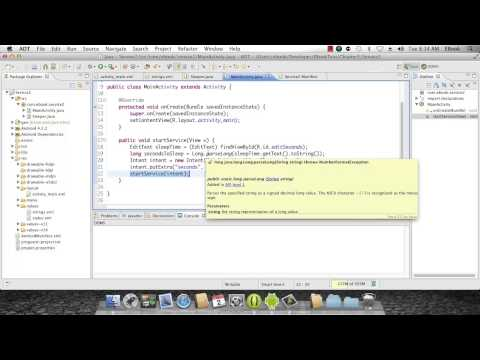 Android Development Course - Chapter 16 - Services Part 2