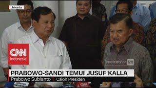 Video Prabowo-Sandi Temui Jusuf Kalla MP3, 3GP, MP4, WEBM, AVI, FLV Agustus 2018