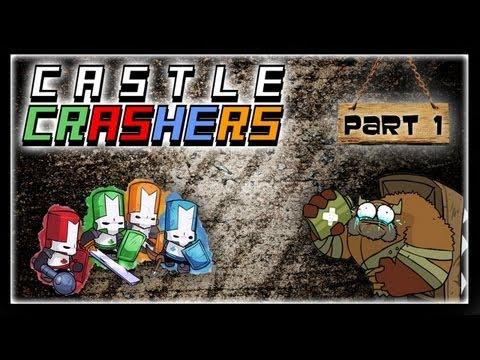 gogo - Prvá časť z Co-op kampane na hru Castle Crashers, v ktorej si zahráme so známymi lets playermi Flygunom, Sterakdarym a Zdochliakkom. Je to srandovná hack and...