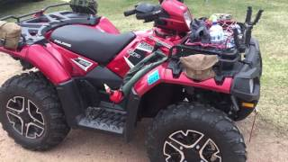 8. 2015 Polaris sportsman 850 XP recall review.