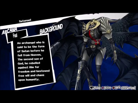 Persona 5: Creating Satanael and Test on Final Boss