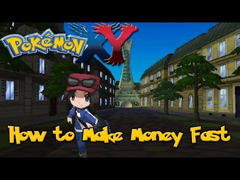 How to Make Money Fast in Pokemon X & Y!