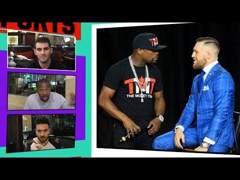 Mayweather/McGregor Fight Attracts a Slew of Big Celebrities | TMZ Sports (видео)