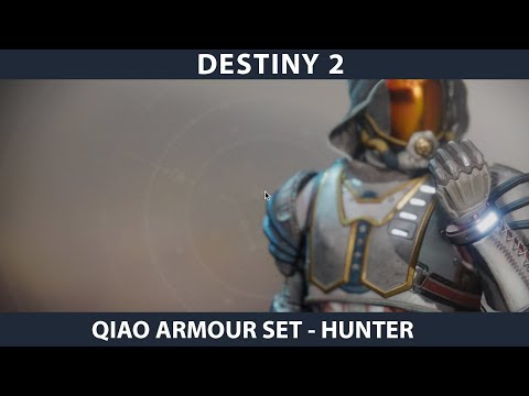 Destiny 2. Warmind - QIAO's Armour. Hunter Full Set