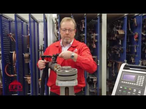 Induction Bolt Heating - Demonstration By EFD Induction