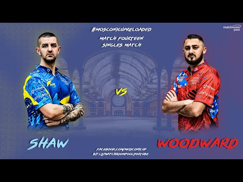 Mosconi Cup Reloaded: Jayson Shaw vs Skyler Woodward