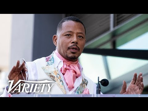 Terrence Howard Walk of Fame Ceremony