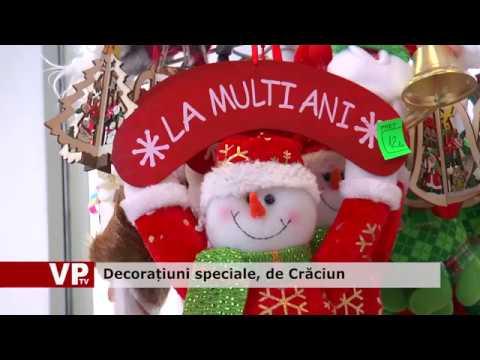 Decorațiuni speciale, de Crăciun