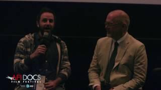 ACORN AND THE FIRESTORM AFI DOCS 2017 post-screening Q&A with director Reuben Atlas and festival director Michael Lumpkin.