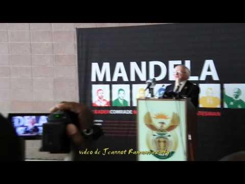 Mandela. George Bizos, Oliver Tambo BLDG Pretoria 11.12.2013
