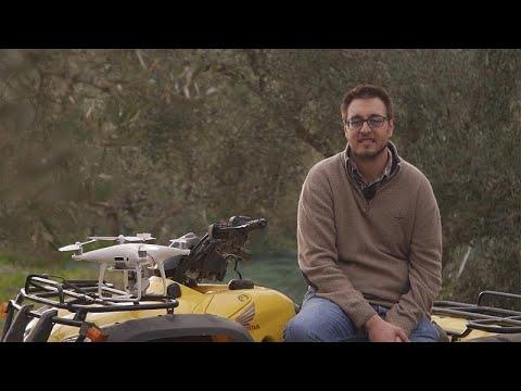 Drone στην υπηρεσία Ελλήνων ελαιοπαραγωγών