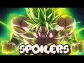 THE END OF DRAGON BALL SUPER BROLY SPOILERS! FINAL BATTLE + MORE!