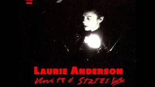 Anderson (IN) United States  city images : Laurie Anderson - United States: Live (Part One)