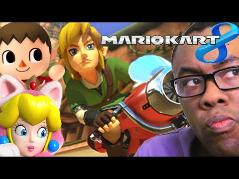 Nerd - Black Nerd on Link and Animal Crossing in Mario Kart 8 DLC. SUBSCRIBE! Join the Black Nerd Cousins: http://bit.ly/subbnc Super Smash Kart: http://youtu.be/vIc_AhUgAtg Ganondorf in Hyrule Warriors:...