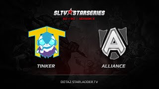 Alliance vs TTinker, game 1