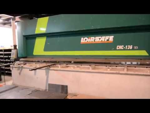 NC Hydraulic Guillotine Shear Loire Safe CH-136 6050x13 2011
