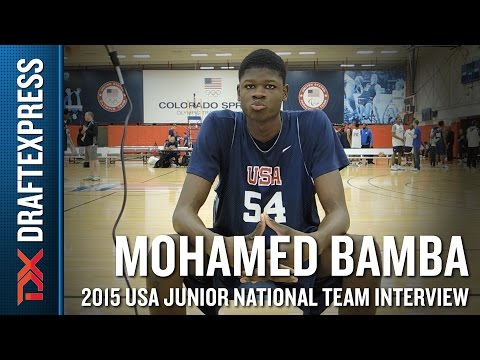 Mohamed Bamba 2015 USA Basketball Mini-Camp Interview