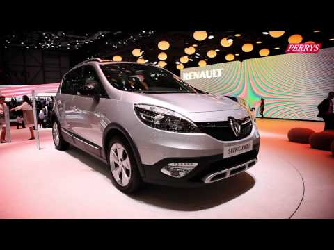 New Renault Scenic XMOD sneak preview – Geneva Motor Show 2013