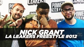 Nick Grant - Nick Grant Freestyle With The La Leakers | #freestyle012