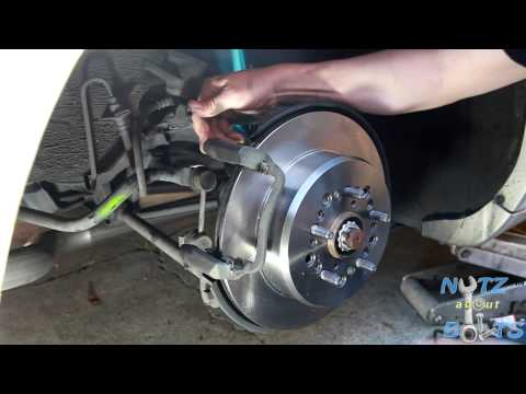 1992-1998 Lexus SC300 Rear brakes rotors and pads remove and install